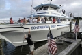 The Continental Shelf docks at the Morehead City waterfront after taking 26 members of the Wounded Warrior East Batalion out for a day of fishing, Friday, September 21, 2007. Chuck Beckley 002